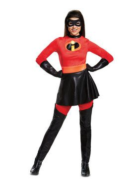 Mrs. Incredible costume from Incredibles 2 available at Costume SuperCenter