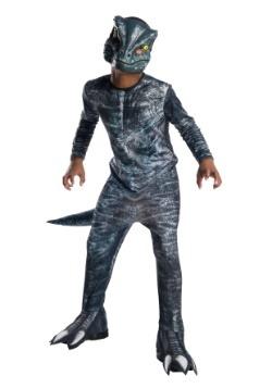 Jurassic World: Fallen Kingdom Blue Velociraptor costume available at HalloweenCostumes.com