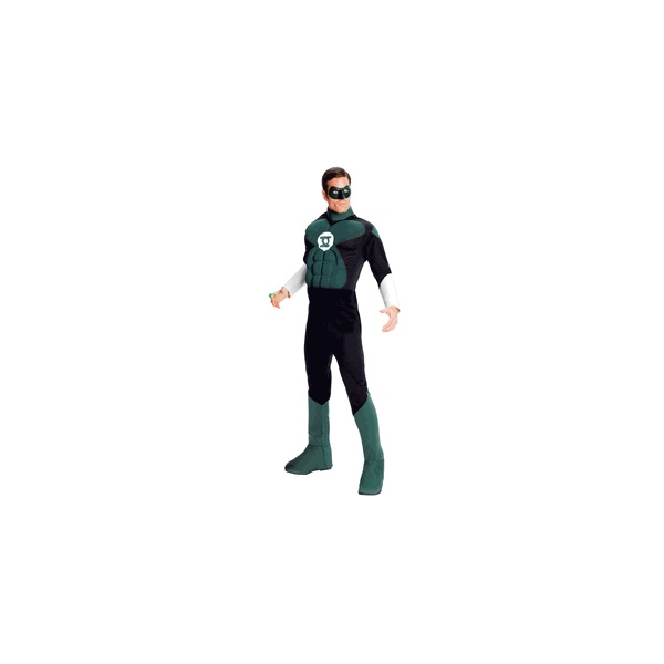 The Green Lantern costume available from Official Costumes
