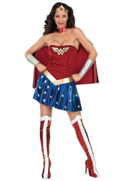 Wonder Woman costume available at HalloweenCostumes.com