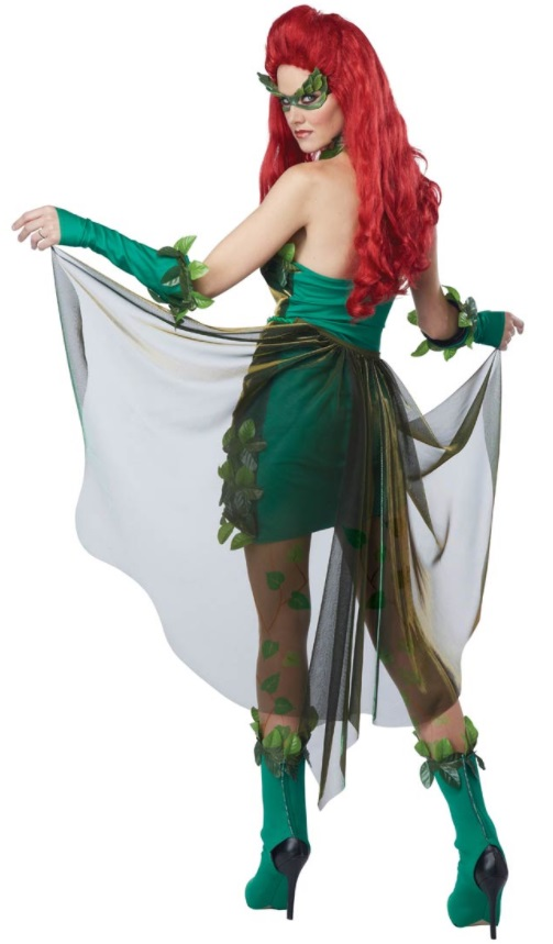 Poison Ivy costume available from Costume Craze