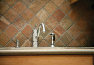countertops and cabinetry by design faucet