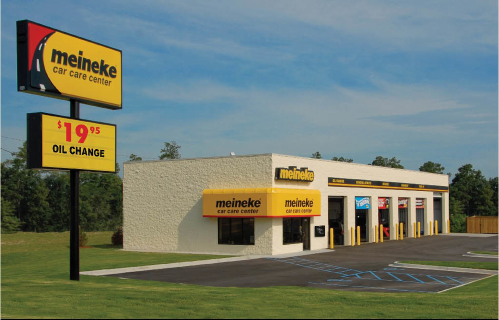 Meineke Car Care Center storefront in Colorado
