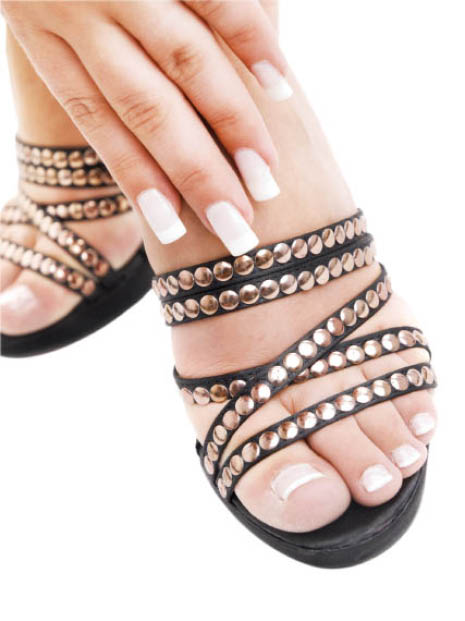 Top ten nails spa coupons valpak for Acrylic toe nails salon