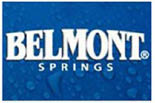 BELMONT SPRINGS� WATER BRIDGEWATER logo