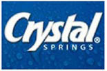 CRYSTAL SPRINGS� WATER SUWANEE logo