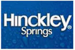 HINCKLEY SPRINGS� WATER MILWAUKEE logo