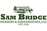 SAM BRIDGE NURSERY & GREENHOUSES logo