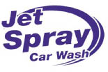JET SPRAY CAR WASH ~I logo