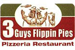 THREE GUYS FLIPPIN PIES logo