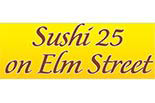 SUSHI 25 ON ELM STREET logo
