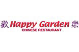HAPPY GARDEN CHINESE REST - WATERTOWN ~I logo