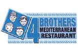 FOUR BROTHERS PIZZA - CUATRO logo