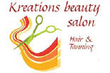KREATIONS BEAUTY SALON logo