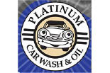 PLATINUM CAR WASH & OIL ~ I logo