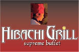HIBACHI GRILL - ORANGE logo