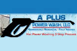 A PLUS POWERWASH ## logo