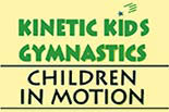 KINETIC KIDS GYMNASTICS logo