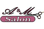 A & M SALON ## logo
