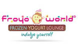FROYO WORLD/FROZEN YOGURT ## logo