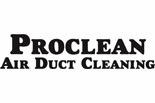 PROCLEAN AIR DUCT CLEANING logo