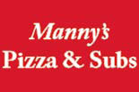 MANNY'S PIZZA AND SUBS-Kensington logo