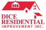 DICE RESIDENTIAL IMPROVEMENT logo