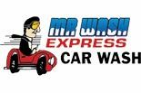 MR WASH EXPRESS CAR WASH logo