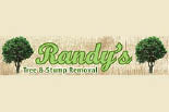 RANDY'S TREE & STUMP REMOVAL logo