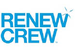 RENEW CREW CLEAN logo