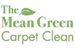 THE MEAN GREEN CARPET CLEAN logo