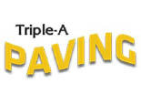 TRIPLE A PAVING logo