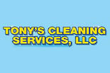 TONY'S CLEANING SERVICES logo