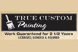 TRUE CUSTOM PAINTING logo