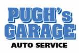 PUGH'S GARAGE AUTO REPAIR logo