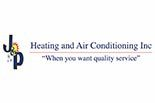 J & P HEATING, AIR & COOLING logo