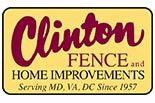 CLINTON FENCE & HOME IMPROVEMENT logo