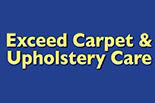 EXCEED CARPET & UPHOLSTERY CARE logo