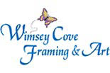 WIMSEY COVE FRAMING & ART logo