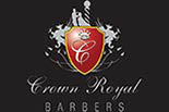 CROWN ROYAL BARBER logo