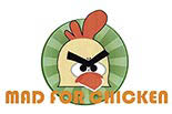 MAD FOR CHICKEN logo