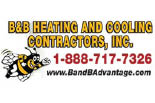 B & B HEATING & COOLING CONTRACTORS, INC. logo