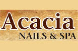 ACACIA NAILS & SPA logo