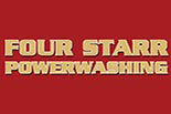 FOUR STARR POWERWASHING logo