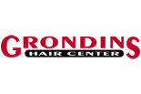 GRONDINS HAIR CENTER logo