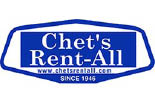 CHET's RENT-ALL logo