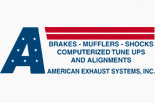AMERICAN EXHAUST SYSTEMS logo