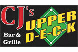CJ'S UPPER DECK SPORTS BAR logo