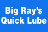 BIG RAY's Quick Lube logo