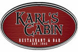 KARL's CABIN RESTAURANT & BAR logo